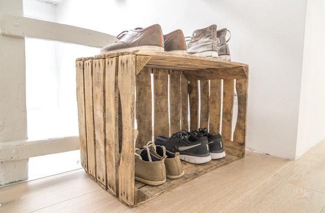 Como organizar os sapatos em casa: sapateira Faça você mesmo