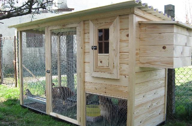 Seria conveniente que o galinheiro seja colocado um pouco de distância da casa