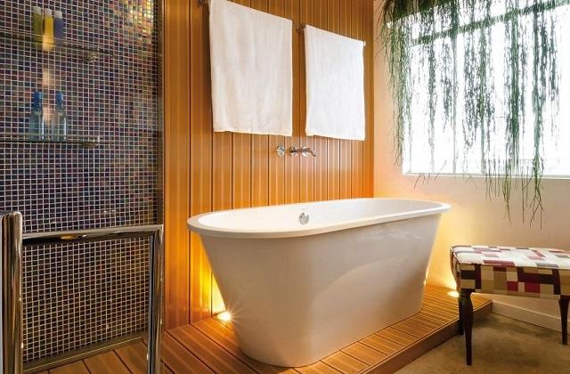 Transformar o banheiro em um spa