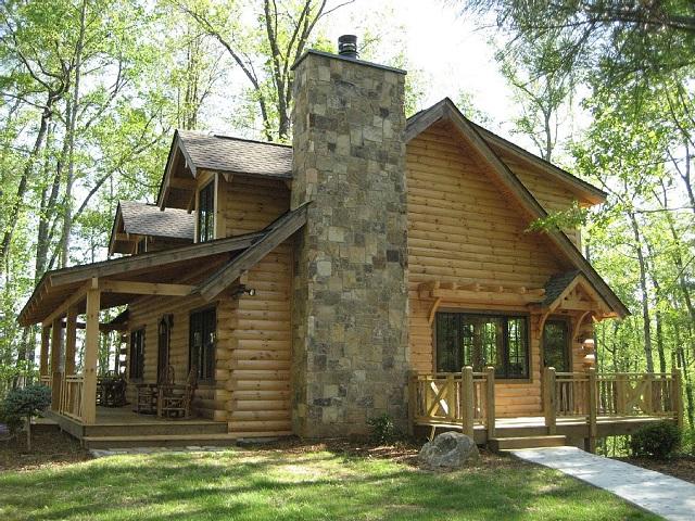 As Block house: Casas feitas com tronco de madeiras