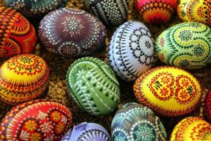 Decorações de Páscoa faça você mesmo: um monte de coloridas ideias