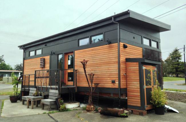 Waterhaus: A tiny house ecosustentável