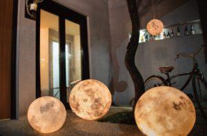 Luminária de chão a Luna