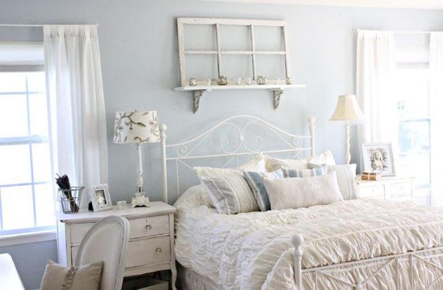 Como decorar o quarto em estilo Shabby Chic
