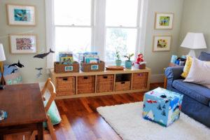 Como criar uma área de recreação para as crianças em casa