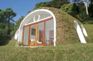 Como construir uma casa tipo concha: fácil e rápido
