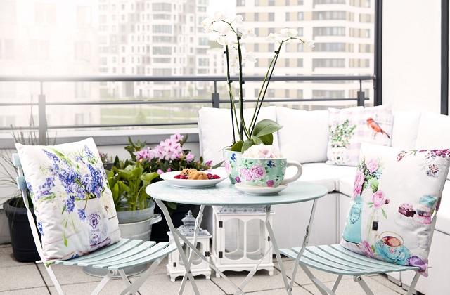 Decore a casa na primavera: Pontos e ideias