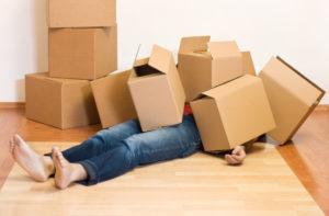 Organizando uma mudança de forma organizada e sem estresse