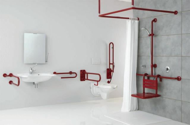 Banheiro prático e funcional para idosos