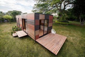 Compre uma casa pré-fabricada na Amazon