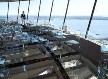Almoço a 150 metros de altura: em Seattle podemos