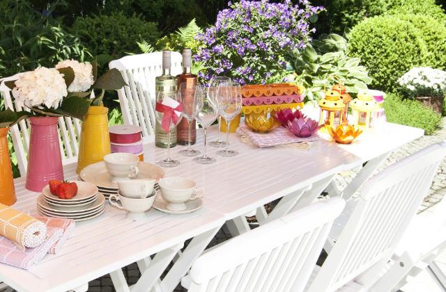 Como decorar a mesa para o verão
