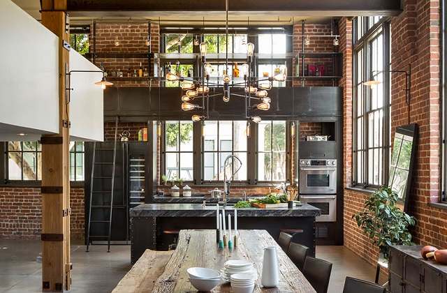 A tua casa muda: decoraçao industrial chique