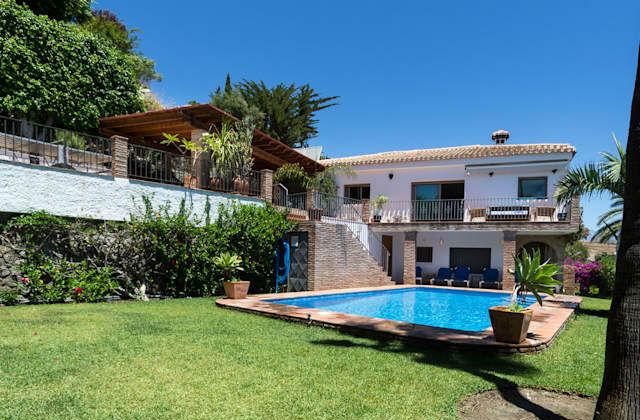 A casa perfeita com uma magnífica vista panorâmica