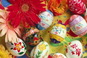 Decore os ovos de Páscoa, idéias faça voce mesmo